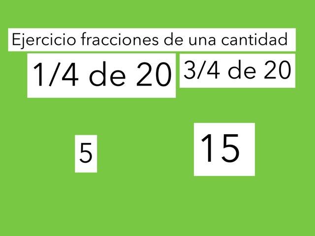 Juego  De Las Fracciones  by Jose Lledó Domingo