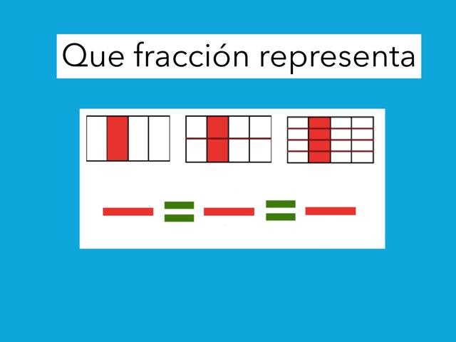 Juego  Fracciones by Jose Lledó Domingo