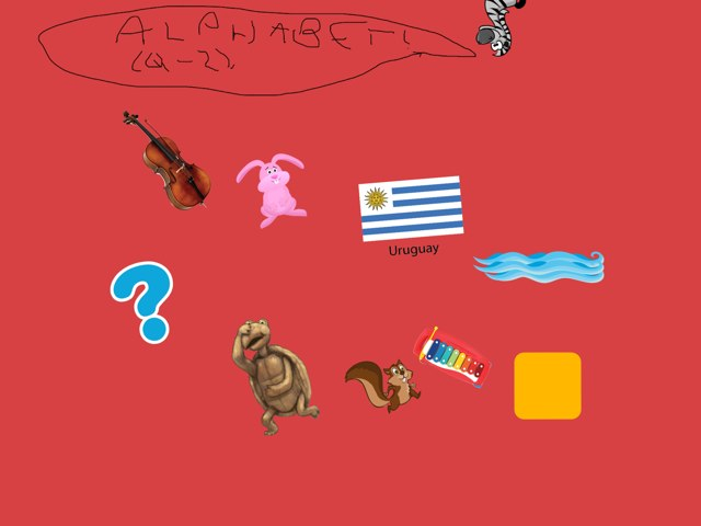 Our lást part of the alphabet is here! Q to z! The end of the alphabet! by Valeria Ferradas