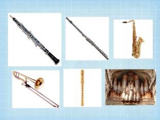 Sims d'instruments de vent by Lucia siles