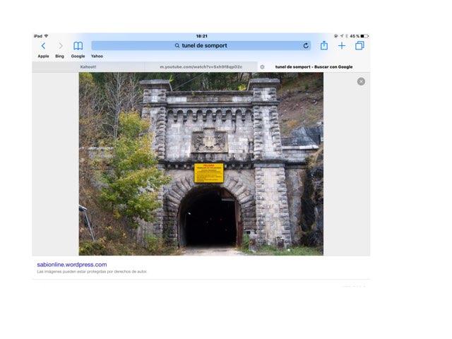 Túnel de somport by German Gutierrez