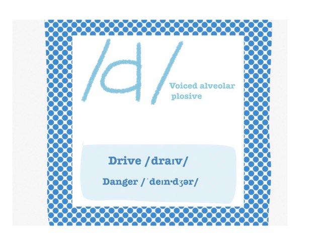 """Como pronunciar la """" d """" en inglés   by Diego Campos"""