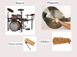 Percussio by Lucia siles