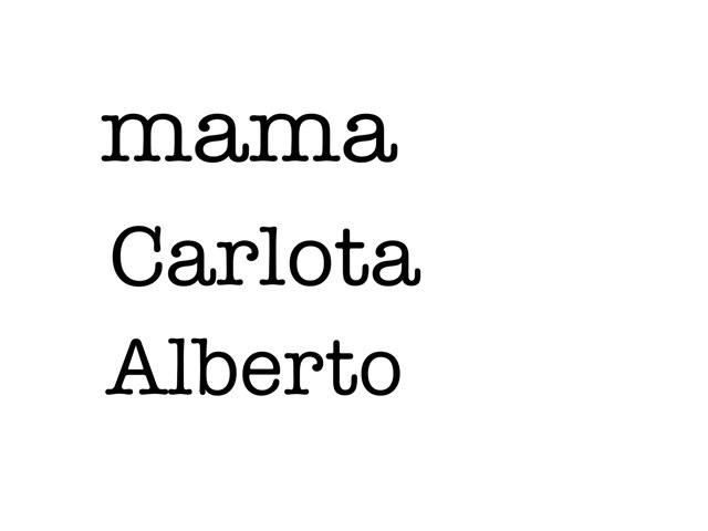 Juego 19 by Carmen Alberto
