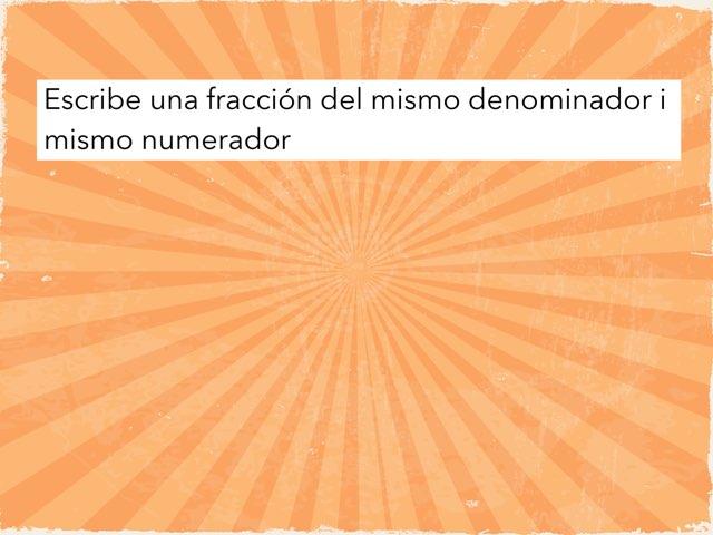 Fraccion 4 by Joël Vilches Martinez