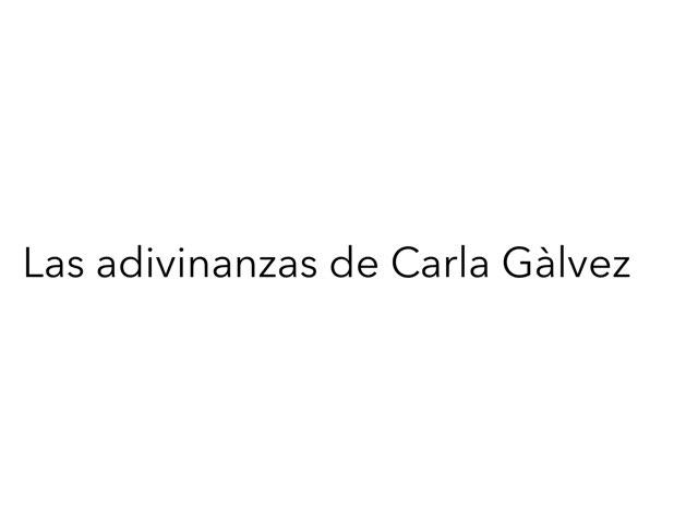 Adivinanzas con Carla G! by Diego Campos