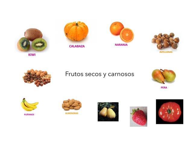 Frutos secos y carnosos by Curso CFTIC