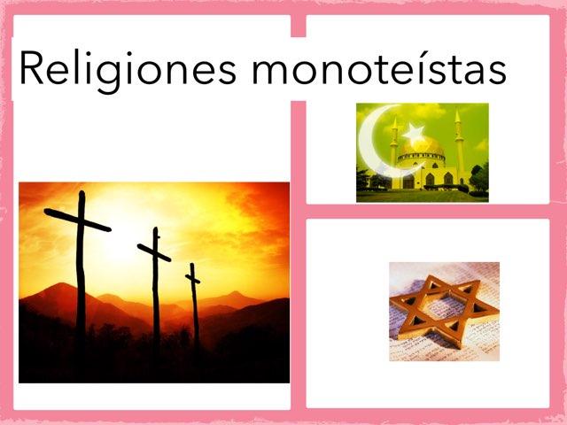 Religiones monoteístas  by Curso CFTIC