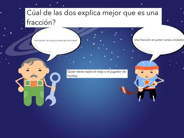 Las fracciones  by Rodrigo De Vega Beltran