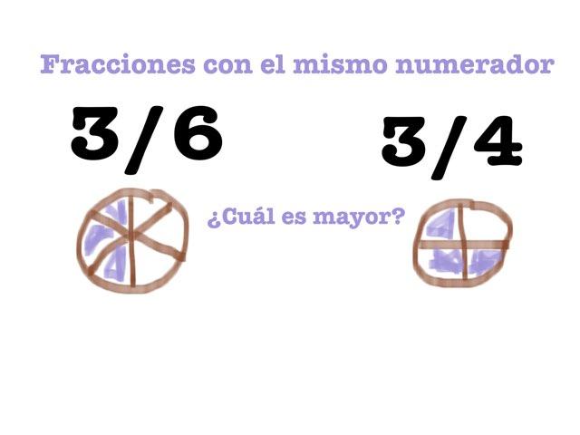 Juego de fracciones 2 by Mireia Correcher Benito