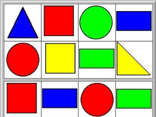 Descubrir la formas y los colores en castellano e inglés  by Inma Luque
