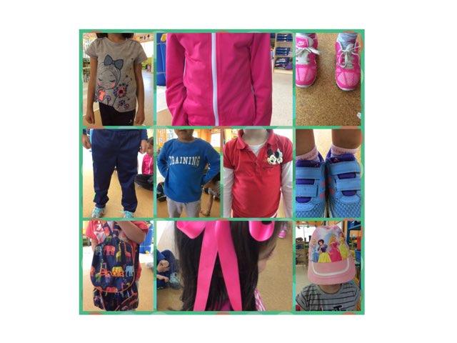 Clothes in coreana. Esl. Educación infantil  by Adelina Garcia Naveiro
