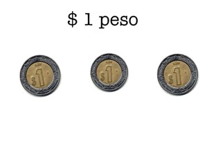 Sistema monetario, base $1 peso  by Pao Mancera