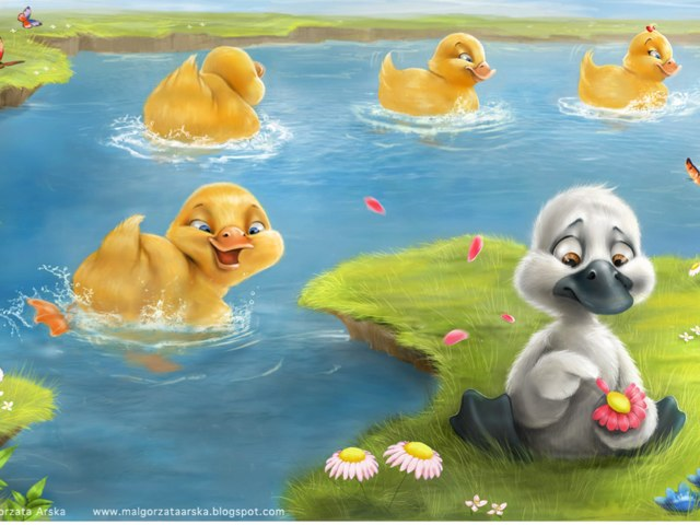 Ugly duck  by Andrea Palomares