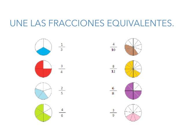 FRACCIONES EQUIVALENTES by Emma Falcó
