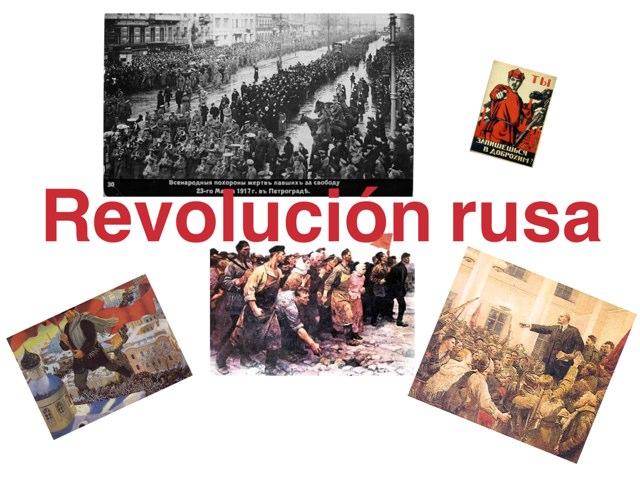Clases sociales implicadas en la revolución  by Montse Ruiz