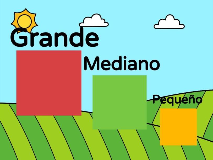 Juego Grande-Mediano-Pequeño by Nicole Angeles