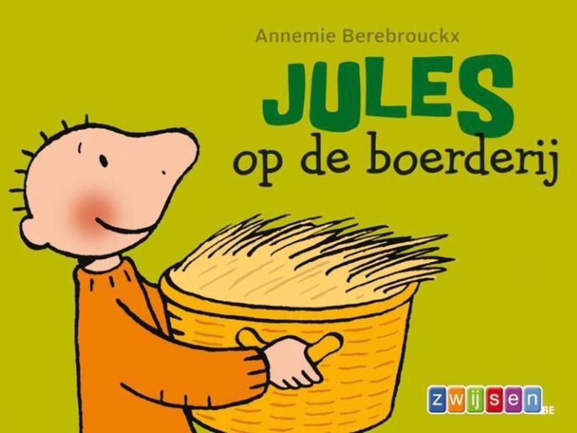 Jules op de boerderij by Elien Dr