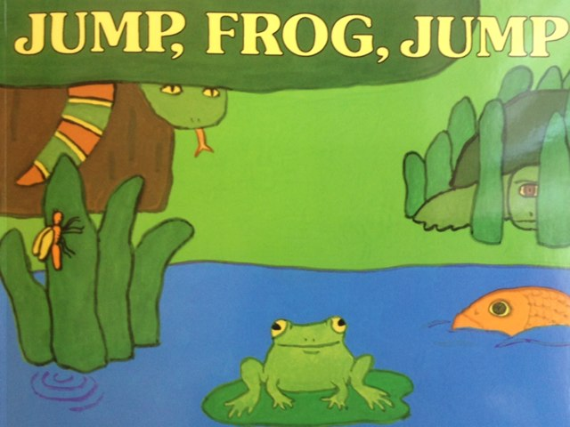 Jump Frog Jump! by Julianne McMillon