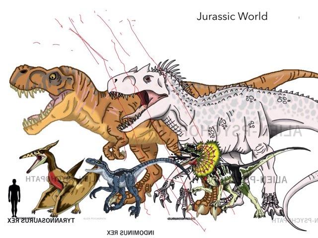 Jurassic Park III And Jurassic World by George awrahim