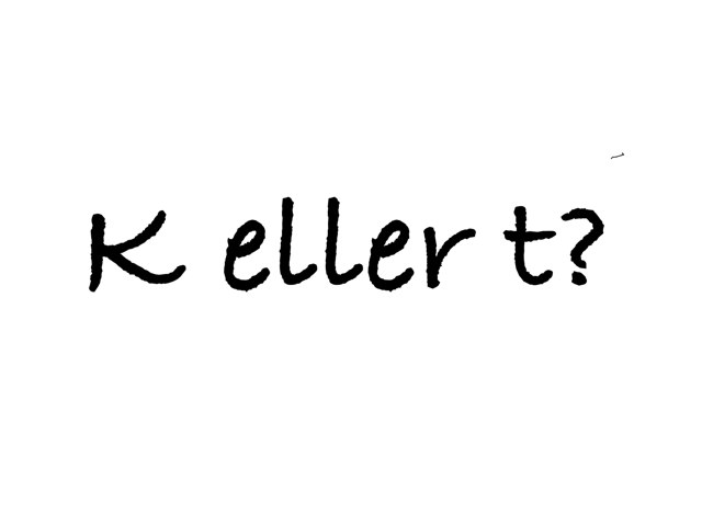 K Eller T by Gitte Cohrt