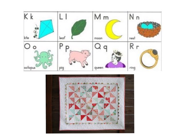 K: Matching Initial Sounds K -R by Frazzled Teacher