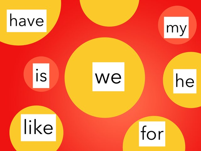 K Sight Words 2 by Jacquie Conway