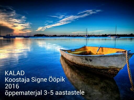 KALAD by Signe Ööpik