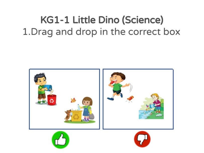 KG1-1 Little Dino (Science) 18/04/2021 by Vantage KG