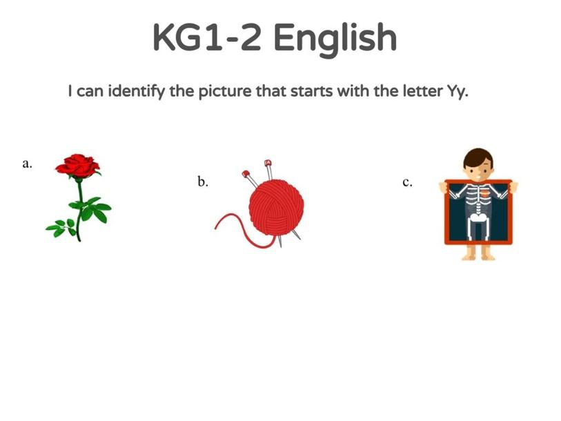 KG-1-2 Activity 11/04/2021 by Vantage KG