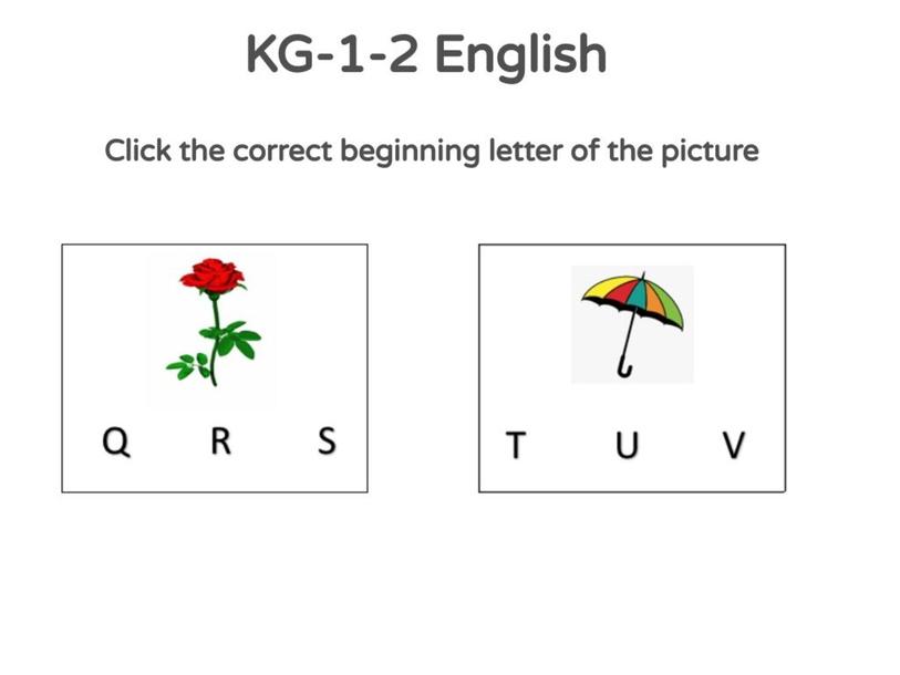 KG-1-2 English 03/05/2021 by Vantage KG