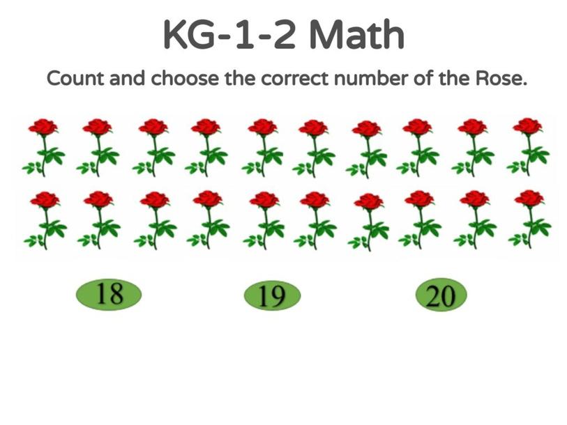 KG-1-2 Math 02/05/2021 by Vantage KG
