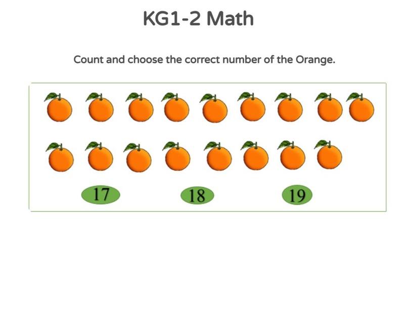 KG1-2 Math 25/04/2021  by Vantage KG