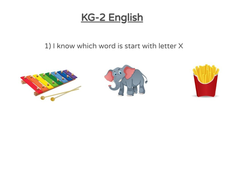 KG-2 English 05/04/2021 (1st) by Vantage KG