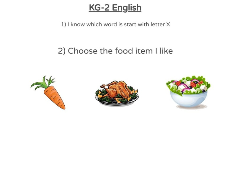 KG-2 English 05/04/2021 (2nd) by Vantage KG
