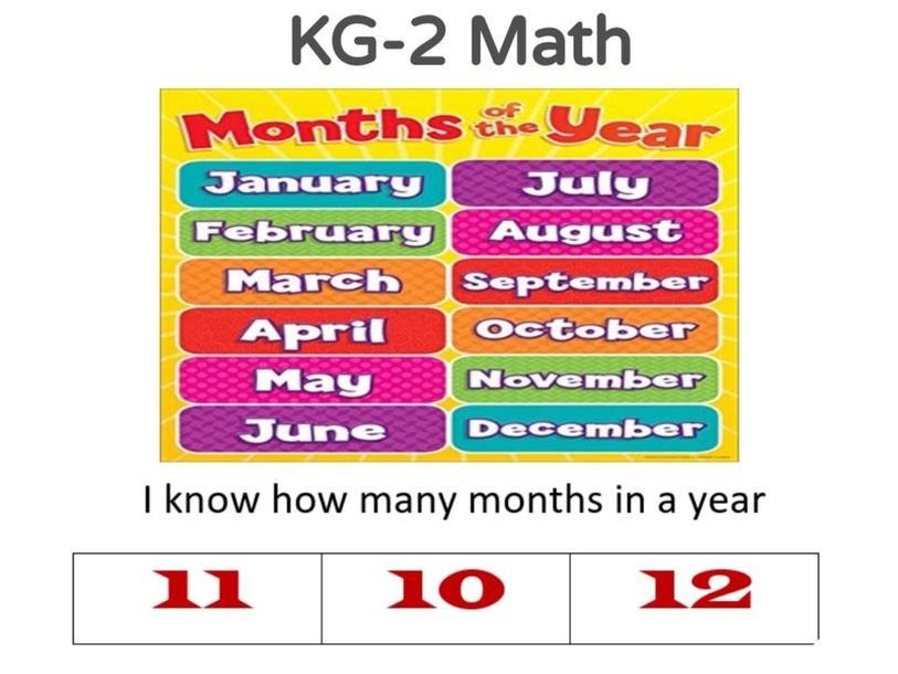 KG-2 Math 18/04/2021 by Vantage KG