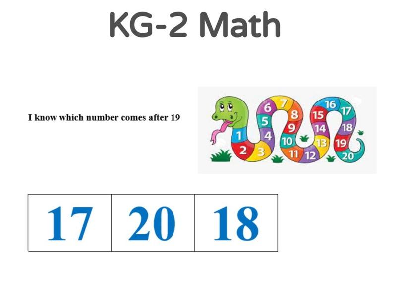 KG-2 Math 25/04/2021 by Vantage KG
