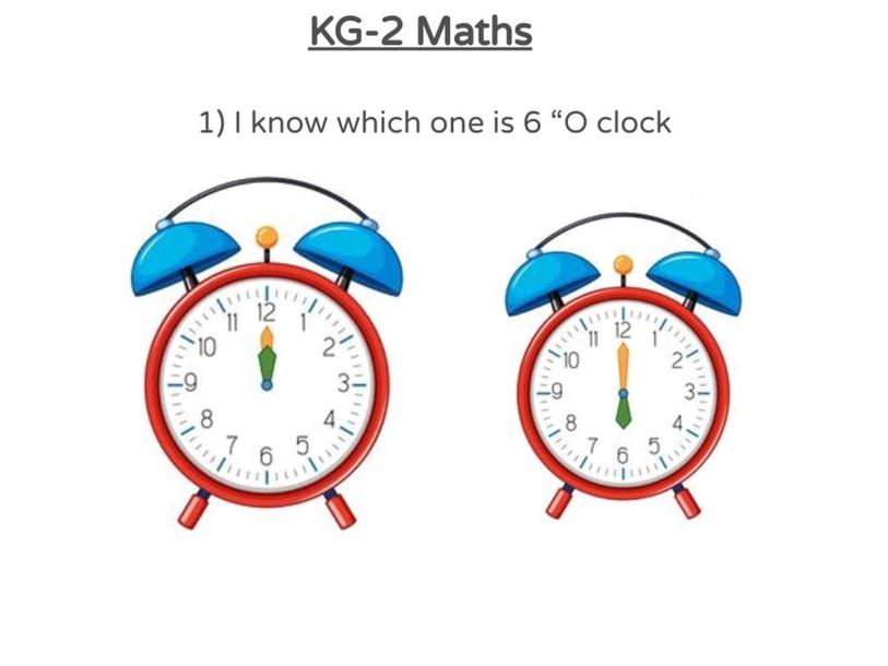 KG-2 Maths 05/04/2021 (1st) by Vantage KG