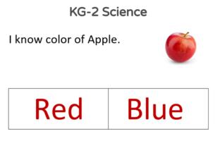 KG-2 Science 20/05/2021 by Vantage KG