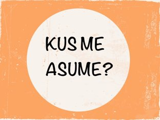 KUS ME ASUME? by Tuuli Koitjärv