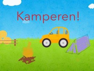 Kamperen  by Desiree Geujen