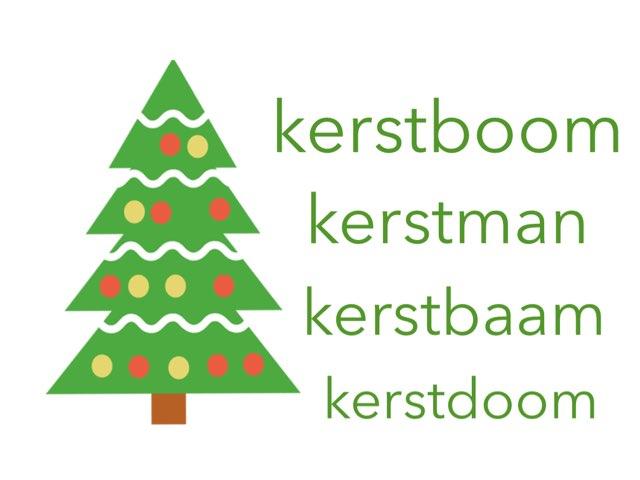Kerstwoorden by School Kluinveenschool