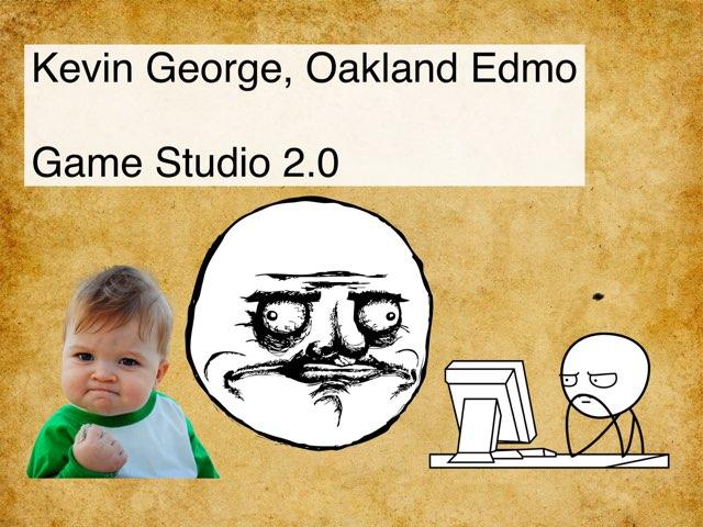 Kevin Game by Edventure More -  Conrad Guevara