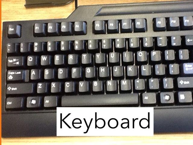 Keyboard Game by Cindy Baun