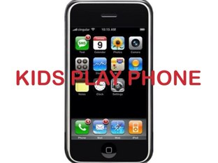 Kids Play Phone  by Belinda Job