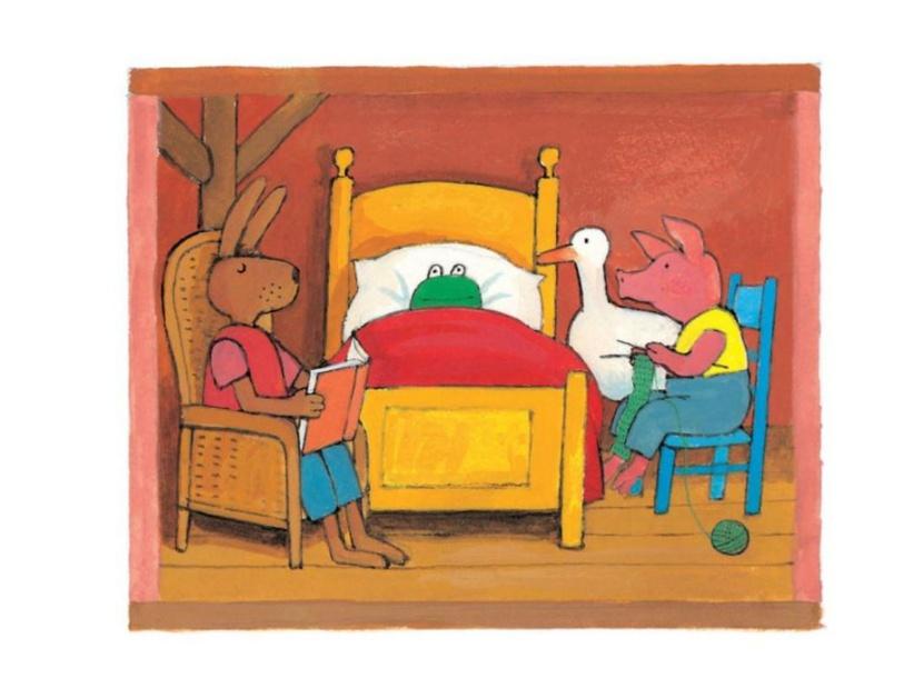 Kikker in de kou 2 by Denise Beverloo-Thimister
