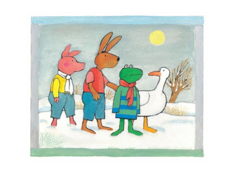 Kikker in de kou by Denise Beverloo-Thimister