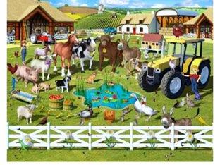 Kinderboerderij puzzel by Mandy Hoefs