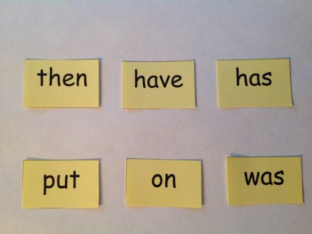 Kindergarten Sight Words 1 by Laura Merritt