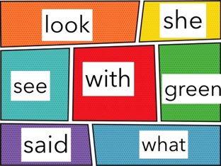 Kindergarten Sight Words by Jacquie Conway